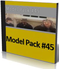 مدل پک 45